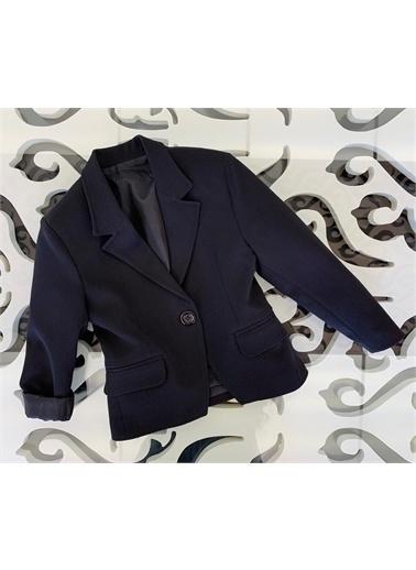 Hilal Akıncı Kids Kiz Çocuk Renklı Blazer Ceket Siyah